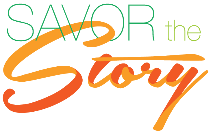 Savor The Story logo