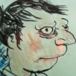 A drawing by Walker Mettling
